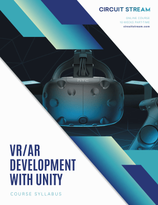Virtual and Augmented Reality Development with Unity Course Syllabus